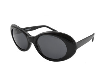 Jacky Oh Black Polarised Retro Sunglasses | Savage Sunglasses Australia